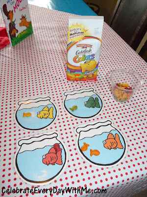 One Fish Two Fish Sorting By Color The Ultimate List of Dr. Seuss Activities