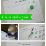 Roll a Sight Word An Interactive Game for Early Readers 150x150 Sight Word Activities for Kids