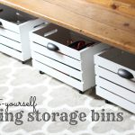 Rolling Storage Bins 150x150 Spring Cleaning:  Kids Edition (Day Three)