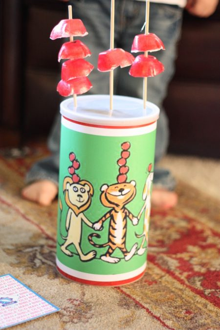 Fun Activity to Do after Reading Ten Apples Up on Top by Dr. Seuss