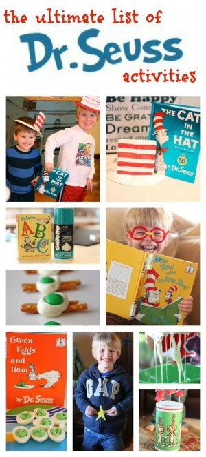 Ultimate List of Dr. Seuss Activities So many fun ideas 300x663 Fishbowl Craft:  One Fish, Two Fish, Red Fish, Blue Fish