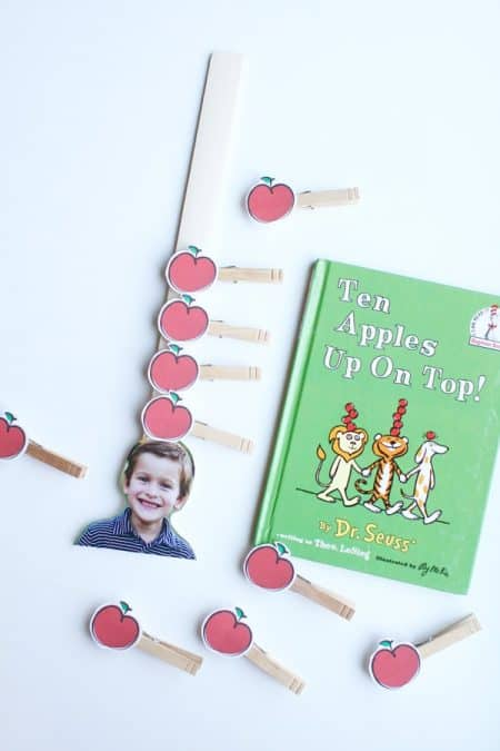 ten apples up on top fine motor