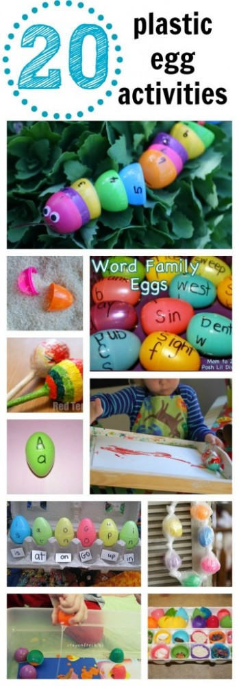 20 Plastic Egg Activities