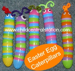 Easter Egg Caterpillars