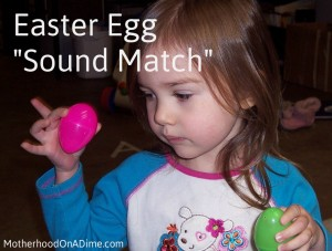 Easter Egg Sounds Match 20 Plastic Egg Activities