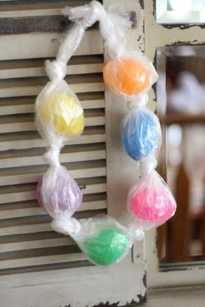 Egg Necklace 300x449 20 Plastic Egg Activities