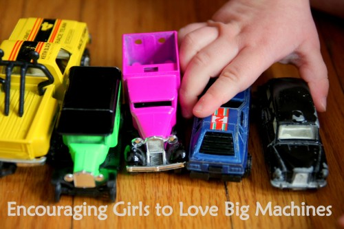 Encouraging Girls to Love Big Machines