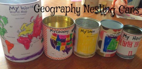Geography Nesting Cans 500x242 Show and Share Saturday Link Up!