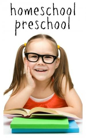 How We Homeschool Preschool