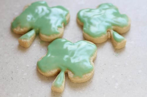 IMG 8966 500x333 St. Patricks Day Cookies