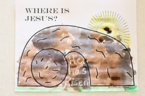 IMG 9173 500x333 Where is Jesus? Magic Watercolor Art
