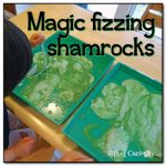 Magic fizzing shamrocks Gift of Curiosity 150x150 Show and Share Saturday Link Up!