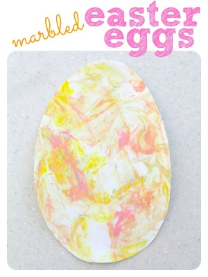 Marbled Easter Eggs 300x400 Marbled Easter Egg Painting