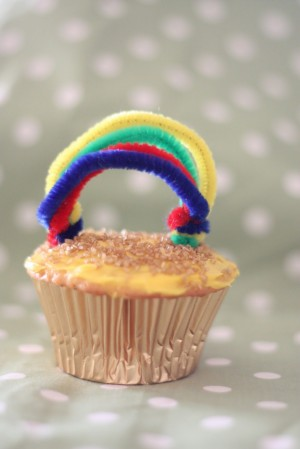 Pot O Gold Cupcakes 300x449 St. Patricks Day Cookies