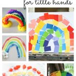 Rainbows for Little Hands 150x150 St. Patricks Day Cookies