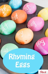Rhyming Eggs Show and Share Saturday Link Up!