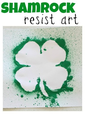 Shamrock Resist Art