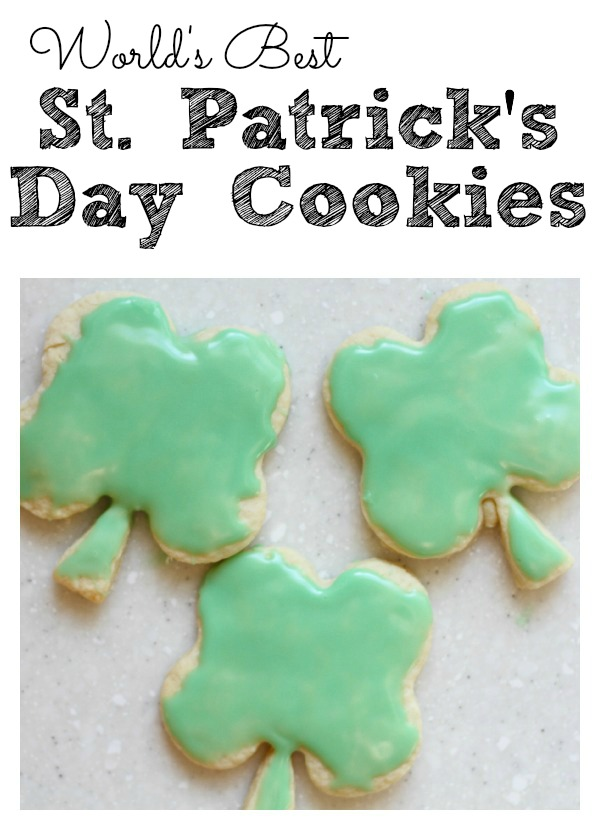 st patricks day treats - st patricks day cookies