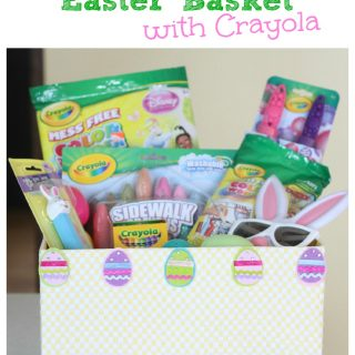 The Ultimate Easter Basket with Crayola (and a Giveaway)