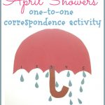 "April Showers One to One Correspondence Activity 150x150 The ""Why do we need sunscreen?"" Experiment"