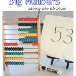 Counting Up to Big Numbers with an Abacus