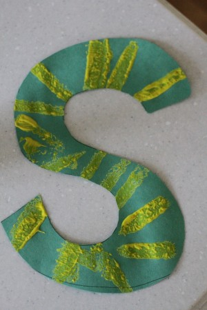 IMG 9659 300x450 S is for Snake:  Alphabet Craft