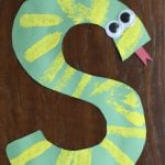 S is for Snake:  Alphabet Craft