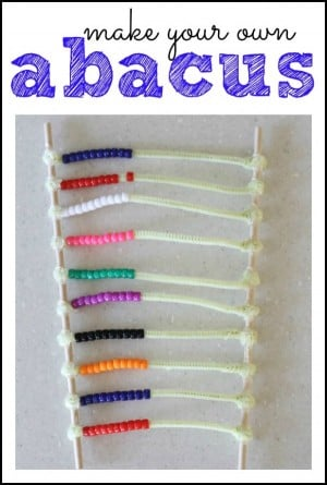 Make Your Own Abacus