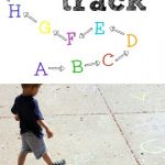 Outdoor Alphabet Track