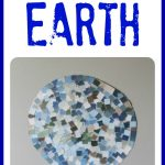 Paint Chip Mosaic Earth 150x150 Hes Got the Whole World in His Hands:  Coffee Filter Stained Glass Earth