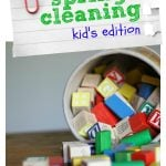 Spring Cleaning:  Kid's Edition (Day Two)