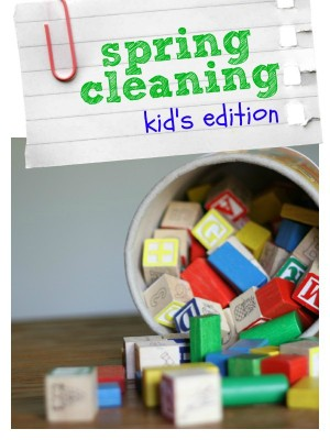 Spring Cleaning Kid's Edition (Day 3)