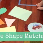 tape shape matching 150x150 Show and Share Saturday Link Up!
