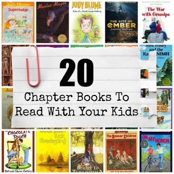20 Chapter Books to Read