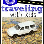 8 Tips for Traveling with Kids 150x150 Cookie Sheet Travel Activity:  Magnetic Sandpaper and Yarn