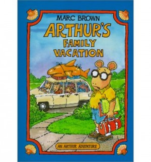 Arthurs Family Vacation 300x322 Books about Road Trips