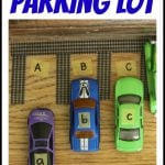 Capital Lowercase Alphabet Parking Lot 150x150 Playdough & Alphabet Stamps