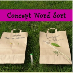 Concept Word Sort 150x150 Show and Share Saturday Link Up!