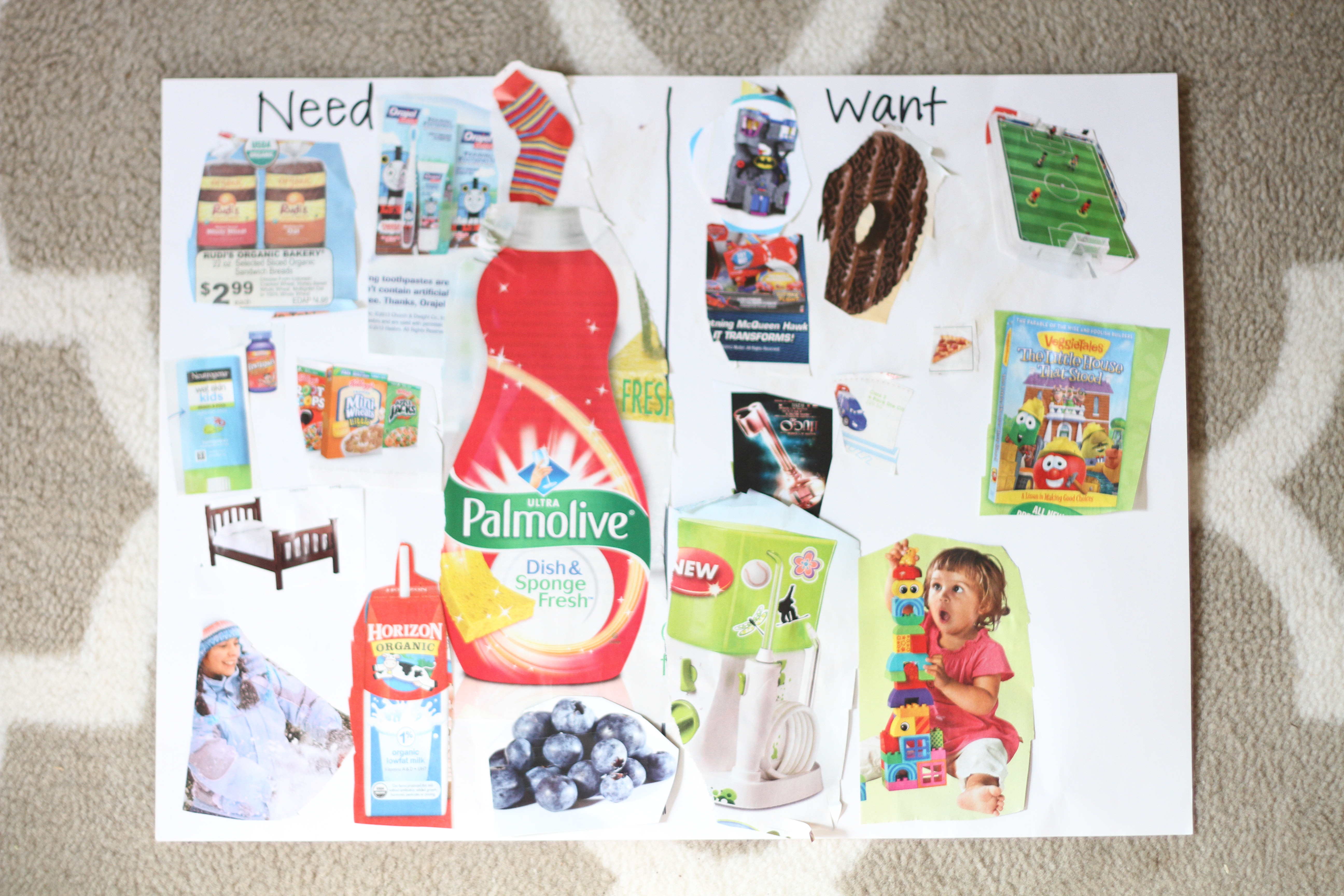 Teaching Children the Difference Between Wants and Needs I Can – Wants and Needs Worksheet
