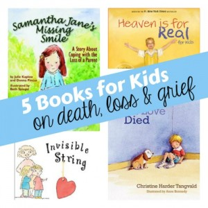5 Books for Kids on Death Loss Grief 500x500 300x300 Books about the Tough Stuff:  Stranger Safety, Safe Touches, and How Babies Are Made