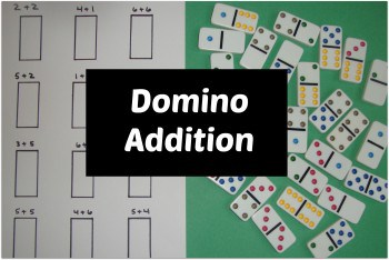 Domino Addition Show and Share Saturday Link Up!