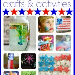 Fourth of July Crafts Activities1 150x150 Red, White & Blue Bubble Snakes