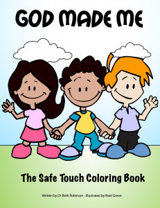 God Made Me- The Safe Touch Coloring Book