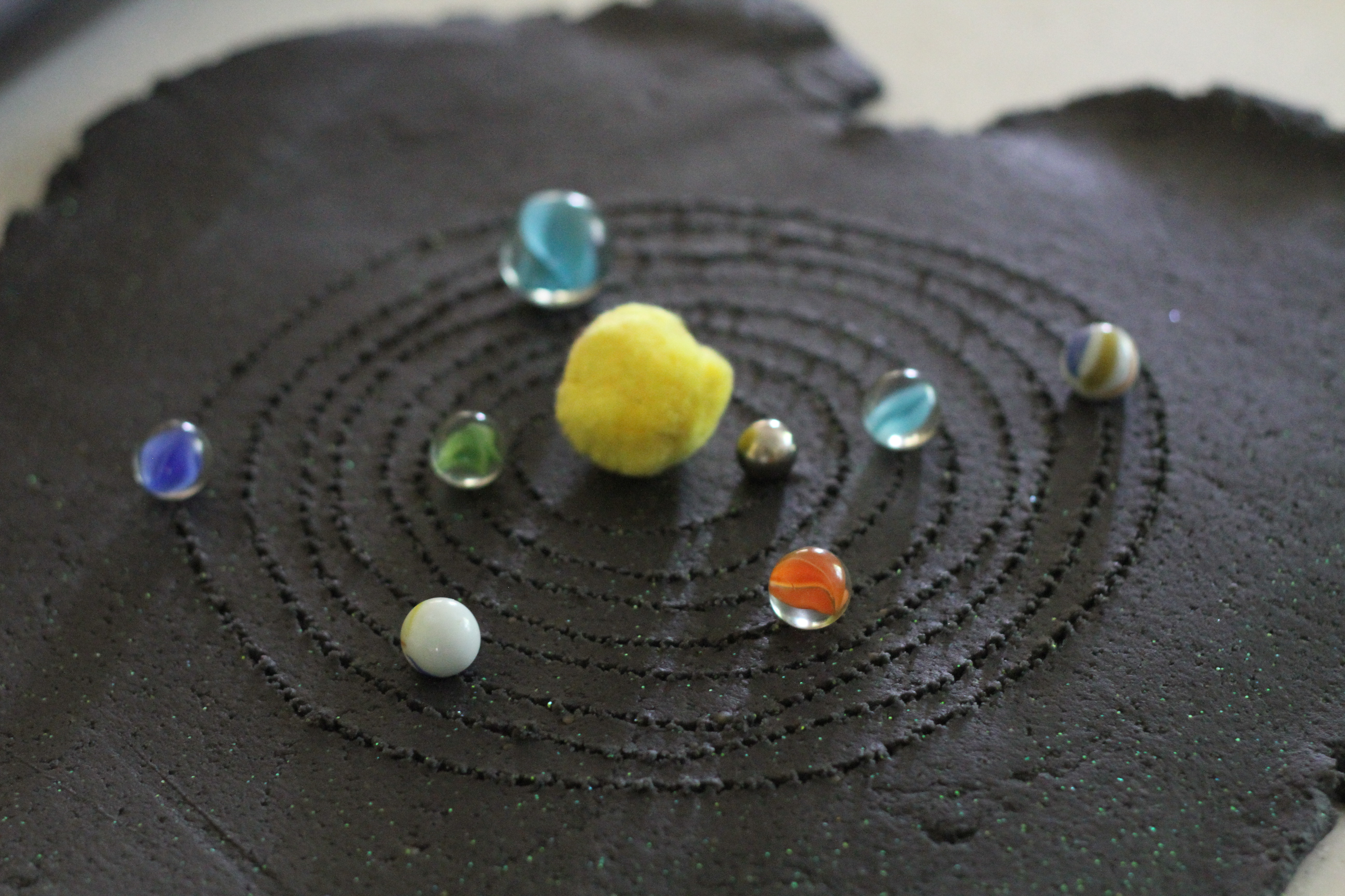 Outer Space Playdough I Can Teach My Child