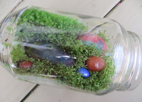Melted Rock Terrarium 500x357 Show and Share Saturday Link Up!