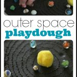 Outer Space Playdough