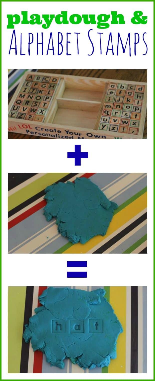 Playdough alphabet stamps i can teach my child playdough and alphabet stamps sciox Image collections