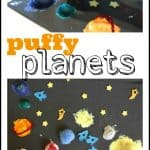 Puffy Planets 150x150 Marbled Easter Egg Painting