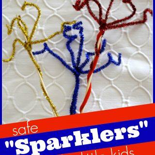 """Safe """"Sparklers"""" for Little Kids"""