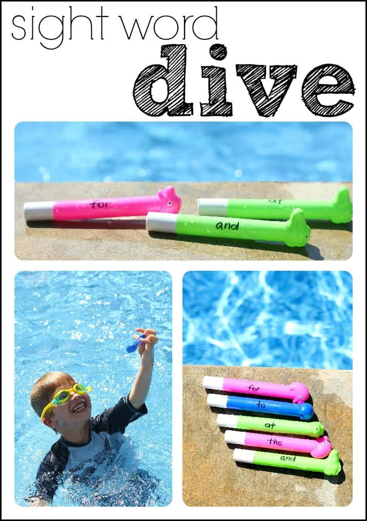 Sight Word Dive I Can Teach My Child
